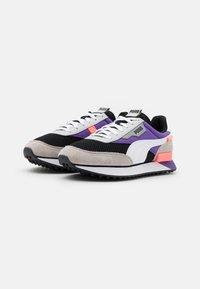 Puma - FUTURE RIDER GALAXY  - Trainers - black/ultra violet - 3