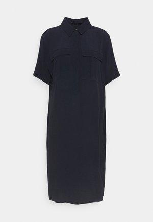 QUINTON - Shirt dress - universe blue