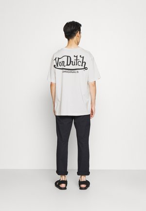 LAKE LOGO TEE - Print T-shirt - white