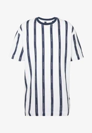 VERTICAL STRIPE - T-shirt con stampa - black