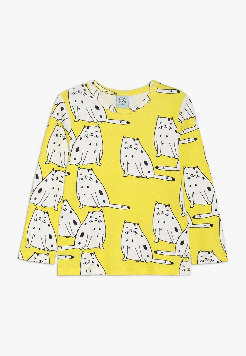 igi natur - Langærmede T-shirts - yellow