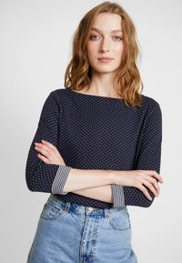 s.Oliver - 3/4 ARM - Long sleeved top - navy - 3