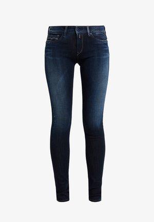 LUZ HIGH WAIST HYPERFLEX PLUS - Jeans Skinny Fit - dark blue