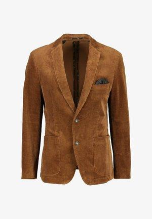 Blazer jacket - maple brown
