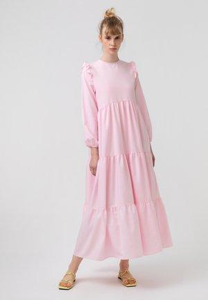 RUFFLED  - Korte jurk - pink