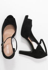 Anna Field - Zapatos altos - black - 3