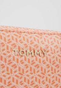 Tommy Hilfiger - ICONIC CAMERA BAG MONOGRAM - Across body bag - orange - 5