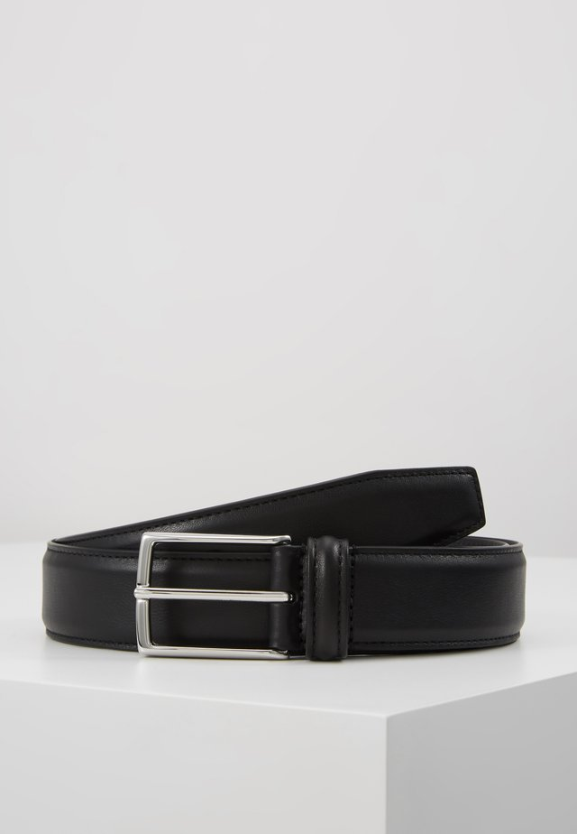 SMOOTH BELT SEAM - Pásek - black