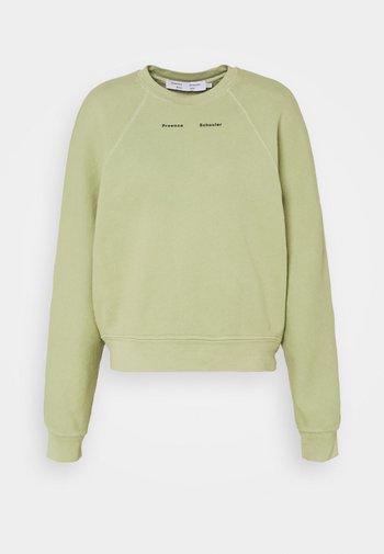 MODIFIED RAGLAN TIE DYE - Sweatshirt - spanish moss