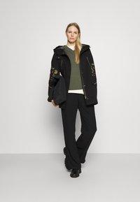 Desigual - Classic coat - black - 1