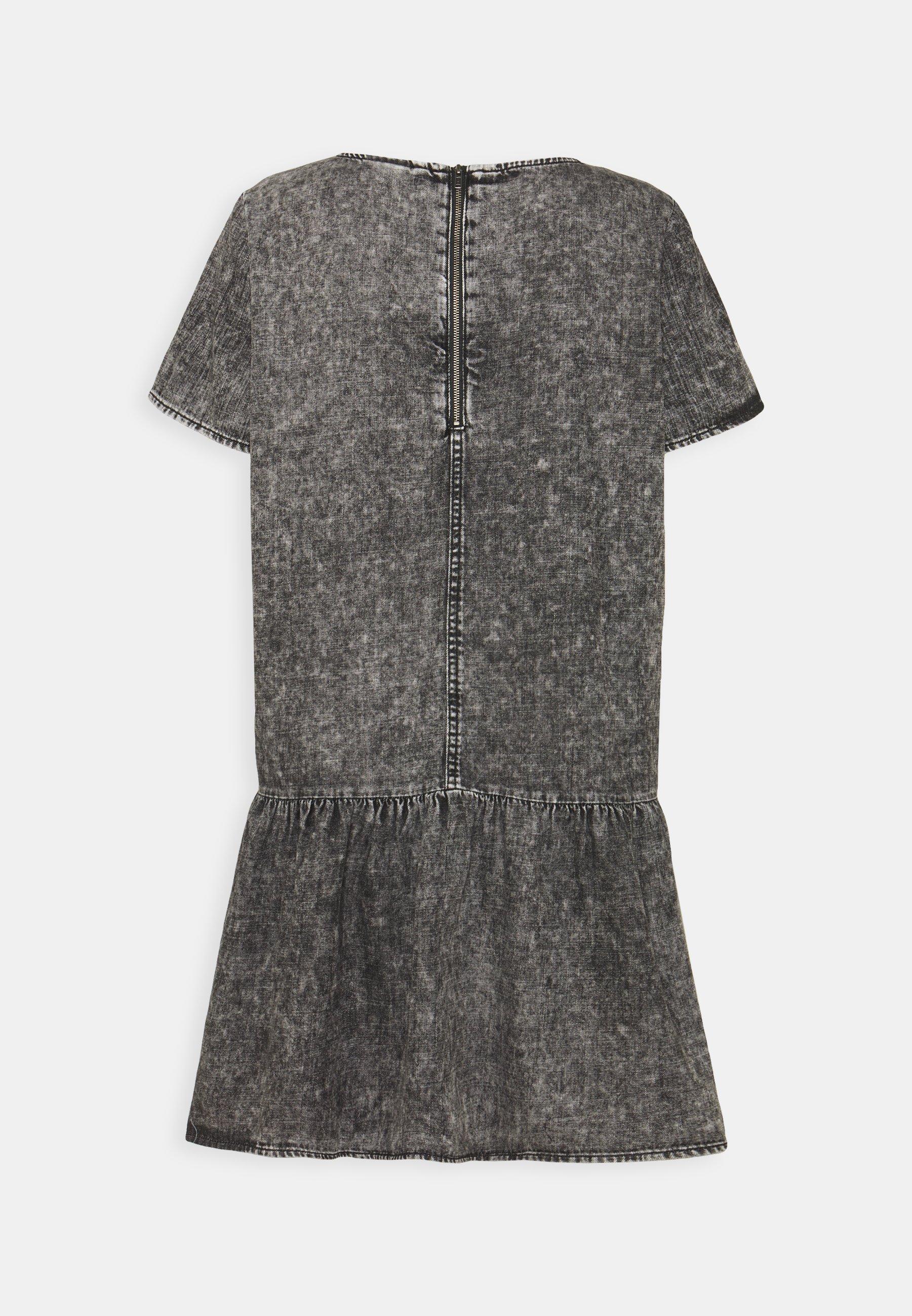 Women NMEMILIA DRESS - Denim dress