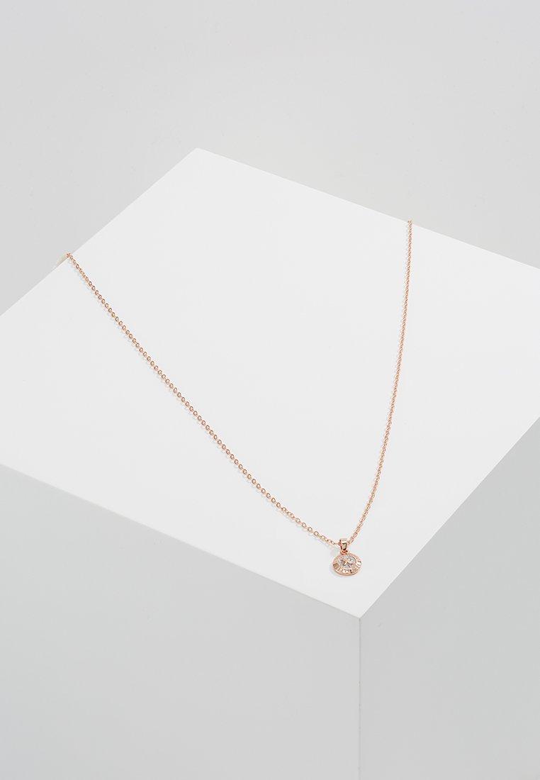 Ted Baker - ELVINA MINI BUTTON PENDANT - Necklace - rosegold-coloured