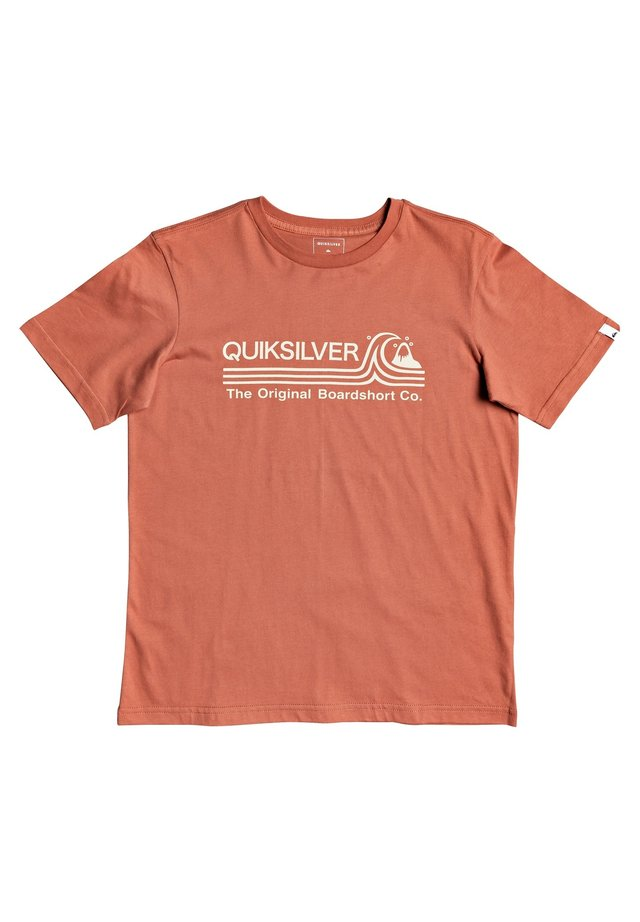 STONE COLD - Print T-shirt - redwood