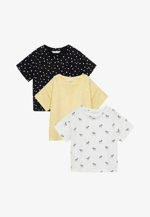 STAMPPK  - Print T-shirt - gebroken wit