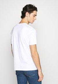 Wood Wood - SAMI  - Print T-shirt - bright white - 2