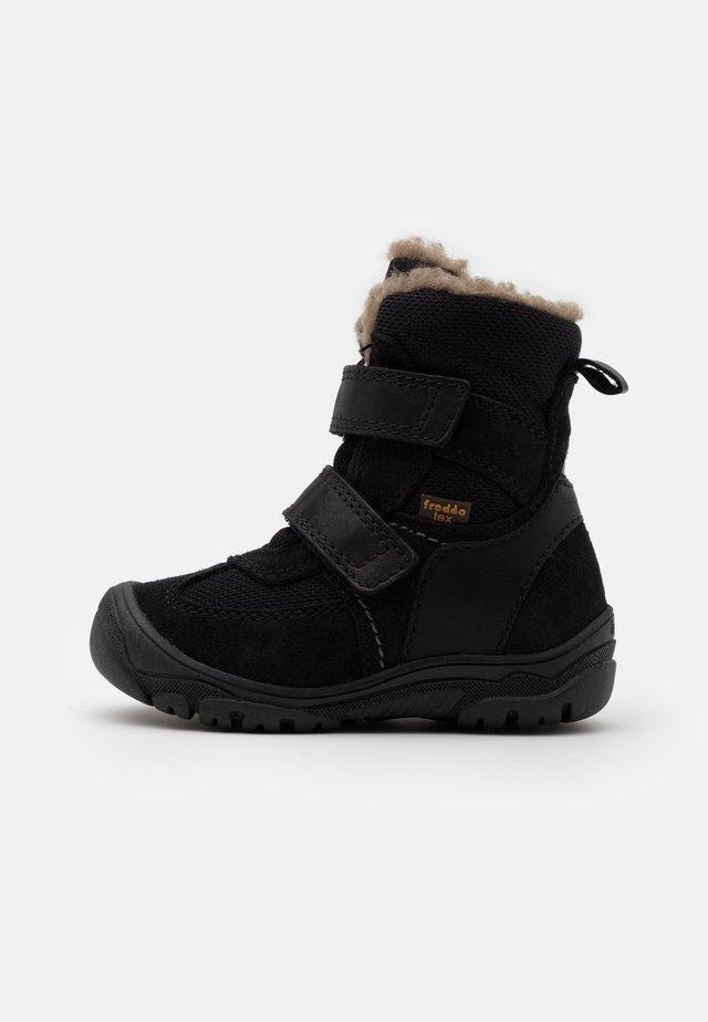 LINZ TEX MEDIUM FIT UNISEX - Vinterstøvler - black