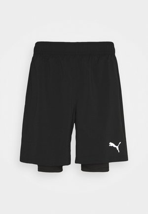 RUN FAVORITE SHORT - Korte broeken - puma black