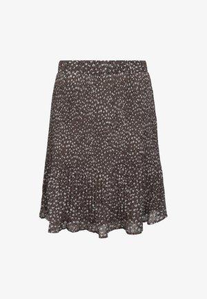 MAJ  - A-line skirt -  sand dot print
