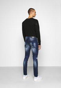 Alessandro Zavetti - MIRANO CARROT FIT - Slim fit jeans - blue - 2