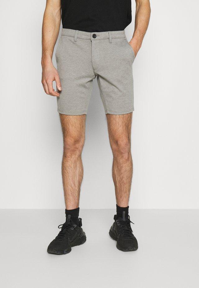 PONTE - Shorts - medium grey melange