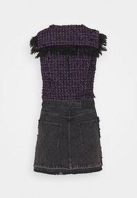 Diesel - D-OLGA - Day dress - black/purple - 1