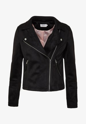 ONLGERRY  - Faux leather jacket - black