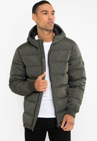 Threadbare - Winter jacket - khaki - 4