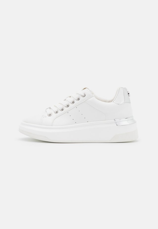 GLACIAL - Sneakers basse - white/silver
