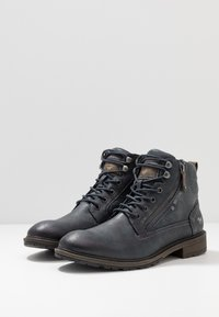 Mustang - Bottines à lacets - navy - 2