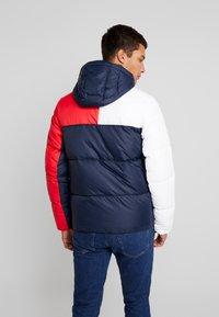 Tommy Jeans - ESSENTIAL COLORBLOCK JACKET - Winter jacket - black iris - 2