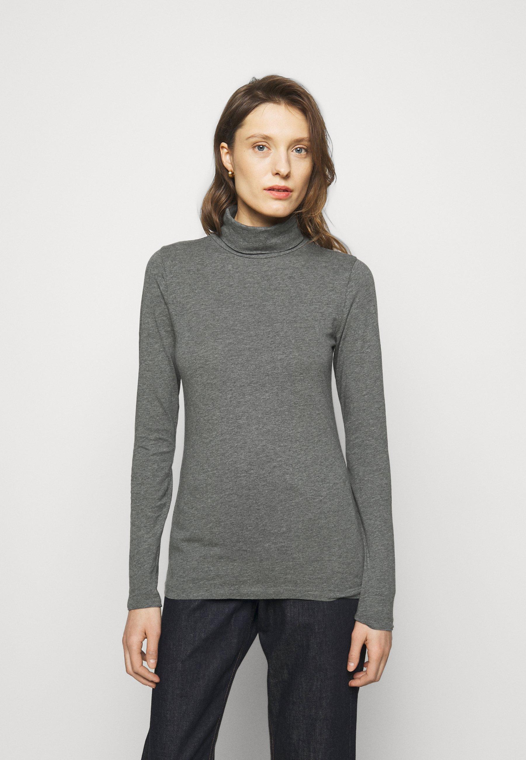 Women TISSUE TURTLENECK TEE - Long sleeved top