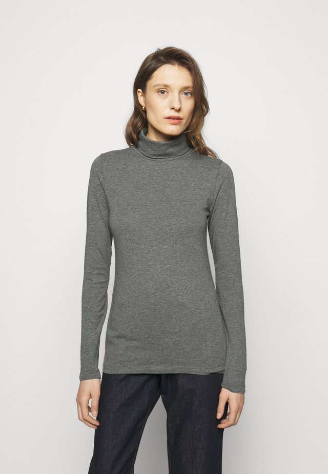 TISSUE TURTLENECK TEE - Langarmshirt - heather slate
