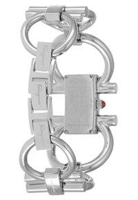 Salvatore Ferragamo - DOUBLE GANCINI WOMEN BRACELET - Uhr - silver-coloured - 2