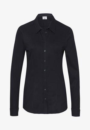 Overhemdblouse - dunkelblau