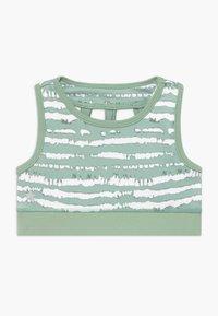 South Beach - GIRLS BRA - Sports bra - sage green - 0