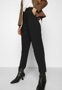 Anna Field - BASIC BUSSINESS PANTS  - Trousers - black - 3