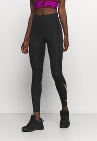 Nike Performance - RUN - Leggings - black/silver - 0