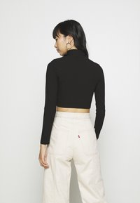 Nly by Nelly - LIGHT CROP  - Longsleeve - black - 2