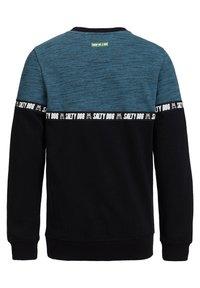 WE Fashion - MET TAPEDETAIL - Sweater - blue - 1