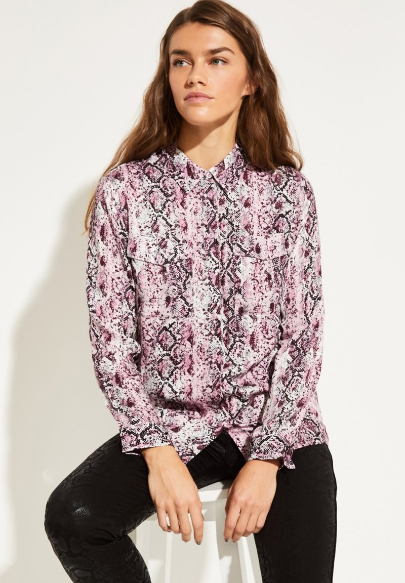 comma casual identity - Button-down blouse - rose