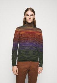 Missoni - LONG SLEEVE CREW NECK - Pullover - multi coloured - 0