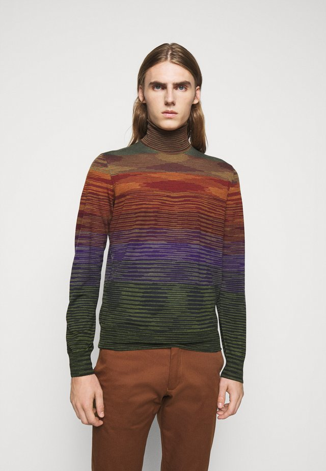 LONG SLEEVE CREW NECK - Strickpullover - multi coloured