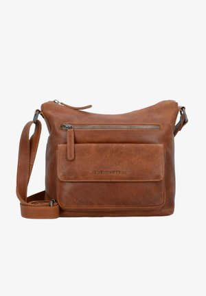 HAILEY - Across body bag - cognac