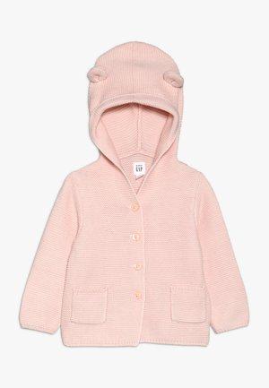 GARTER BABY - Gilet - milkshake pink