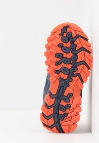 TrollKids - KIDS SANDEFJORD LOW UNISEX - Hiking shoes - mystic blue/orange - 5