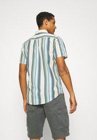 REVOLUTION - STRIPE - Shirt - blue/off-white - 2