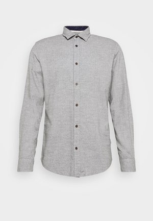 JORBARRET DETAIL - Shirt - light grey melange