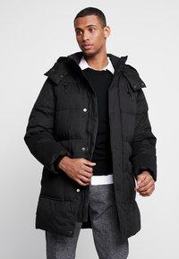 Calvin Klein - LONG LENGTH - Zimní kabát - black - 0