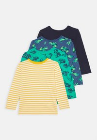 Friboo - 4 PACK - Longsleeve - yellow/dark blue/green - 0