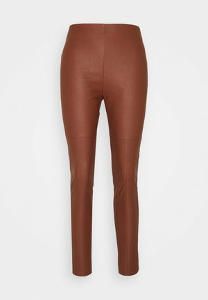 ANSELMO  - Trousers - brown